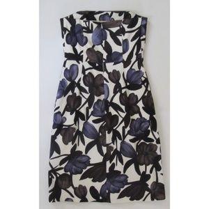 Banana Republic Strapless Dress floral xs 0